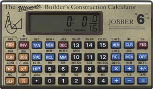 Jobber 6 Construction Calculator